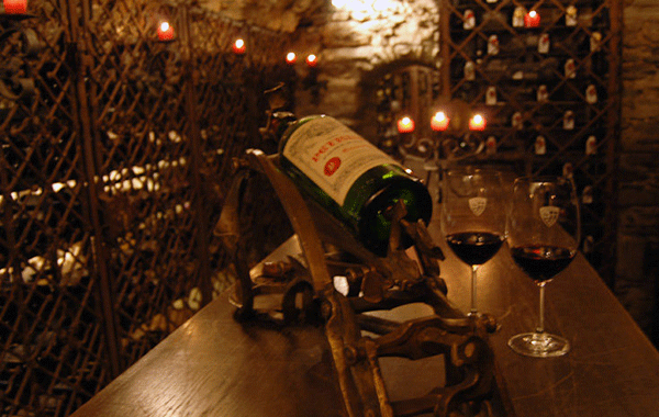 St. Christophs ca. 600 år gamla vinkällare