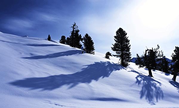 Snö- och solsäkra Passo Tonale.