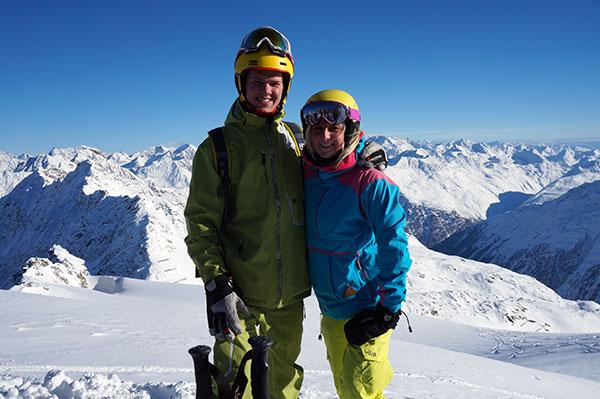 Två härliga guider vid namn Lars och Linda ;).