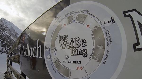 Der Weisse Ring är namnet på den rutten som vi åker i dag
