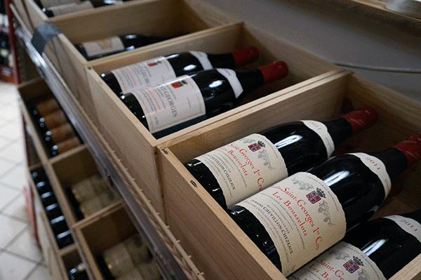 Goda franska viner finns det gott om.