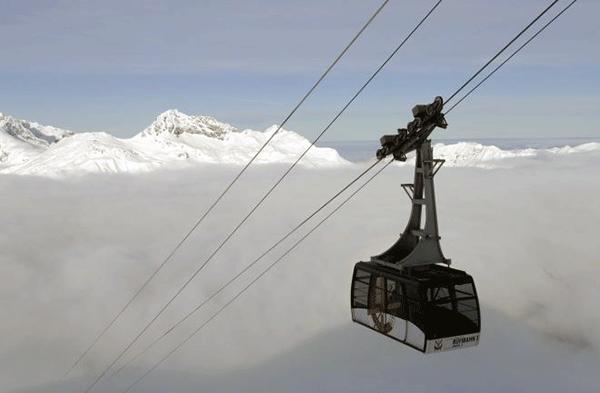 Om du inte lider av höjdskräck, måste du passa på att njuta av utsikten.