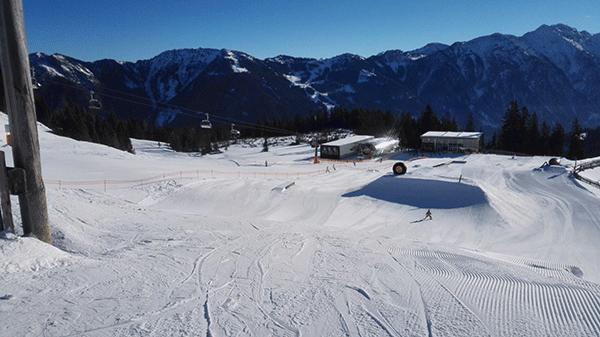 I Absolut Park ovar manga duktiga skidakare varje dag.