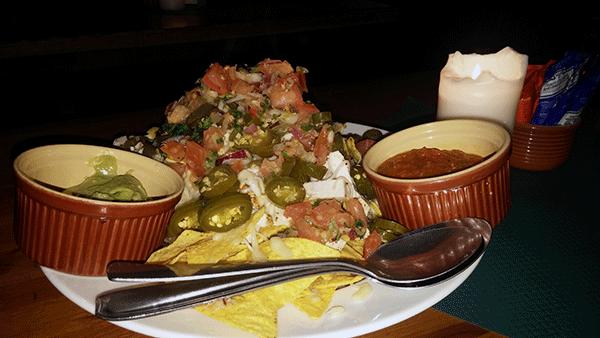 Om du tycker om chili eller mexikansk mat, sa kan jag varmt rekommendera deras nachos!