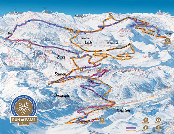 St. Anton skidområdet