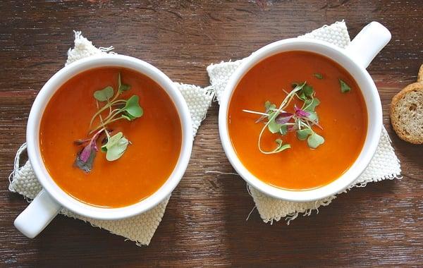 Soppor funkar nastan alltid for bade vegetarianer, veganer och allergiker.
