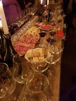 vinprovningen tilltugg