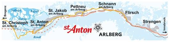 St Anton och skidområdena runtomkring är ett skidparadis av högsta kaliber.