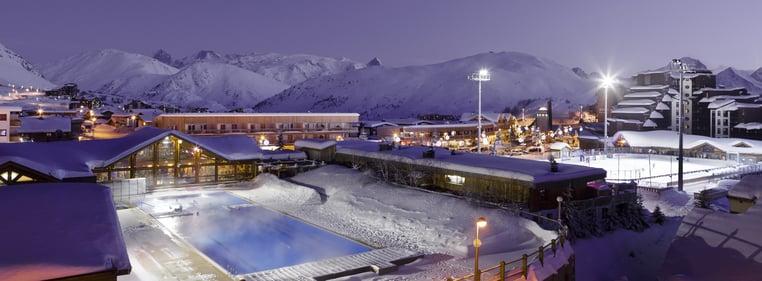 Alpe d'Huez - swimmingpool