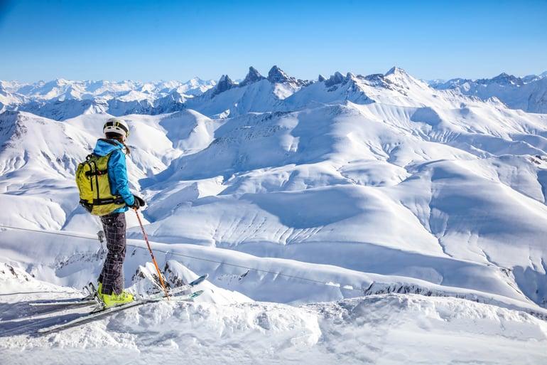 Alpe d'Huez - skidåkning