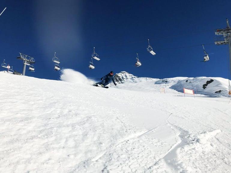 Champoluc skidåkning