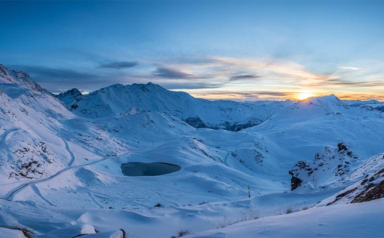 Les Arcs - Nortlander - Sunset