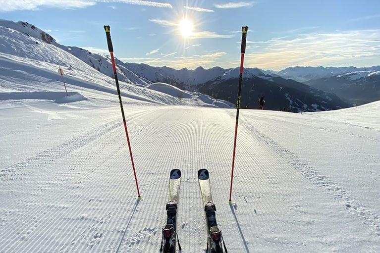 Les Arcs_skidåkning