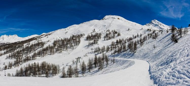 Sestriere skidområde