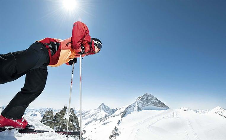 Zillertal Nortlander skiing